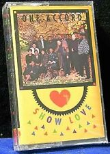 One Accord Show Love 8 song 1993 CASSETTE TAPE NEW!