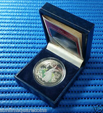 1999 LAO 3,000 KIP Lunar Year of the Rabbit 20gm 925 Silver Proof Coin