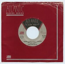 SAM & DAVE Soul Man / When Something Is Wrong My - ATLANTIC OS-13092 - Vinyl  M-