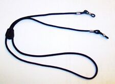 DELUXE  GLASSES / SPECTACLE / SUNGLASSES NECK CORD / LANYARD / RETAINER - BLACK