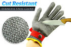 New Cut Resistant Proof Stainless Steel Metal Mesh Butcher Safety Glove