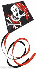 Skully Pirate Single Line String Kite 65 x 63 cm