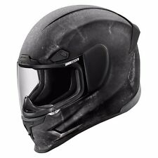 New Black Icon Airframe Pro Construct Motorcycle Helmet Full Face - Medium