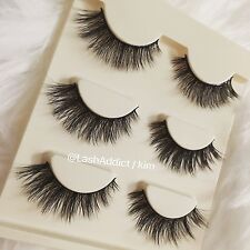 3 Pair MINK Lashes Lilly EYELASHES 3D Mink Lashes - USA SELLER