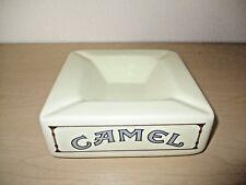 """VINTAGE CAMEL CIGARETTES 7.5"""" CERAMIC ASHTRAY. RARE HTF."""