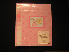 C.R. Gibson Tapestry - Scrapbook Album with Software CD - Baby Girl