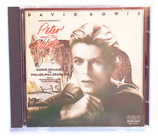 CD ALBUM / DAVID BOWIE - NARRATES PROKOFIEV'S PETER AND THE WOLF / 1985 JAPAN