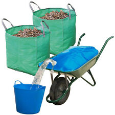 Equestrian Farm Wheelbarrow Water Container 50L Pourer & 120L Extra Strong Bags