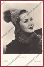 JUNE LANG 06 ATTRICE ACTRICE ACTRESS CINEMA MOVIE USA Cartolina FOTOGRAF. 1937