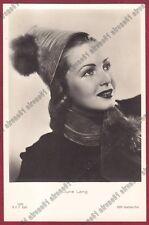 JUNE LANG 06 ATTRICE ACTRICE ACTRESS CINEMA MOVIE USA Cartolina FOTOGRAF. 1937