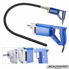 Electric Power Concrete Vibrator Tool Cement Finishing Bubble Remover 3/4HP