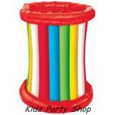 Hawaiian Luau Party - Striped Inflatable Drinks Cooler - Free Post in Uk