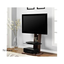 Flat Screen TV Stand With Mount Integrated Furniture Modern Television Corner
