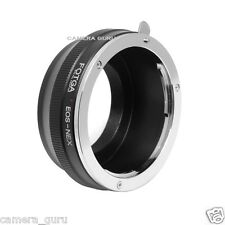 Canon EOS EF EF-S lenses to Sony NEX E mount adapter
