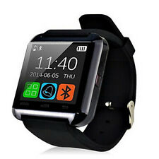 Black Bluetooth Smart Watch WristWatch Camera For Samsung Galaxy Grand Dous Note