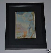 SALVADOR DALI Listed Artist GENUINE 1946 Color Print in MUSEUM BLACK FRAME #18