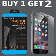 X 2-Pack 100% Genuine Tempered Glass Film Screen Protector for Apple iPhone 6