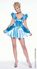 SALE! BLUE PRINCESS CINDERELLA LEG AVENUE COSTUME UK 14-16 L SPACE CADET GIRL