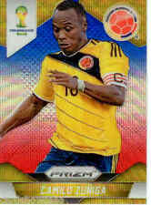 2014 World Cup Prizm Blue Red Wave Parallel Card No.49 C.Zuniga (Colombia)