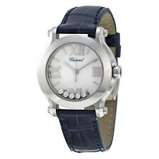 Chopard Happy Sport Mini Diamond Ladies Watch - 278509-3001