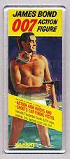 James Bond 007 Figure Toy Box-ART Wide FRIGO CALAMITA-Classic Gilbert giocattolo!