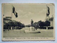 BASSANO DEL GRAPPA Monumento Gaetano Giardino Vicenza vecchia cartolina