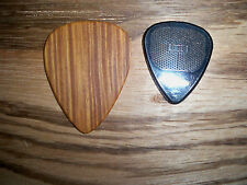 Jumbo Wooden Guitar Pick Lignum Vitae by Robinson wood picks