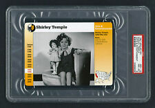 PSA 8 SHIRLEY TEMPLE Grolier Card #63-16 Beautiful NearMint to Mint Condition