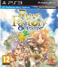 Rune Factory Oceans PS3 * NEW SEALED PAL *