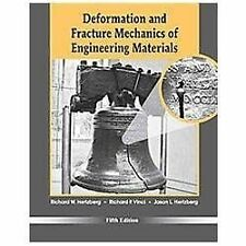 Deformation and Fracture Mechanics of Engineering Materials 5th Int'l Edition