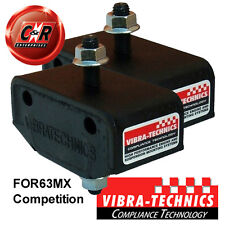 2 x Ford Escort Mk4 Series 2 RS Turbo Vibra Technics Gearbox Mounts Comp FOR63MX