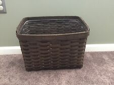 Longaberger 2008 Newspaper Basket w Protector