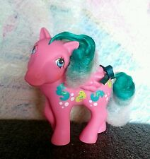 Vintage My little pony G1 *WAVE DANCER* Sea horses Pegasus ~color changing hair~