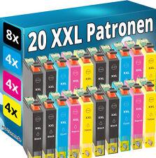 20 XL TINTE PATRONEN für Epson WF3620DWF WF3640DTWF WF7110DTW WF7610 WF7620 DTWF