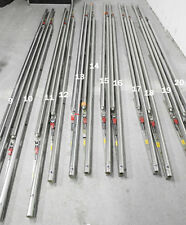 PANAVISION 6x tracks for dolly or crane 244cm long. Steel/chrom.