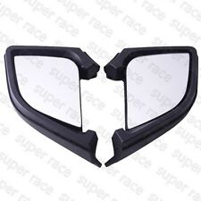 New One Set Black Left & Right Side Rear Mirror for BMW 05-11 R1200RT 2005-2011