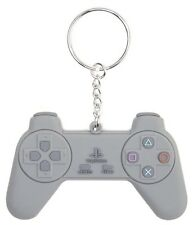 Sony PlayStation PS1 One Controller Rubber Keychain Keyring | Official (New)