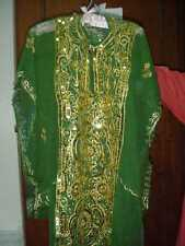 Women's Ladies Arabian Khaleeji Dance Thobe Nashal Costume FREE INTL FEDEX