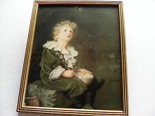 VINTAGE FRAMED PICTURE ' BUBBLES' BY JOHN EVERETT MILLAIS