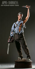 SIDESHOW EXCLUSIVE ARMY OF DARKNESS ASH! PREMIUM FORMAT FIGURE STATUE Movie BUST