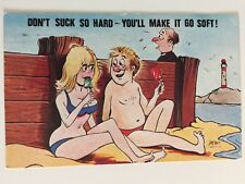 Vintage Postcard - Cardtoon #C40 by Prof - Posted 1979