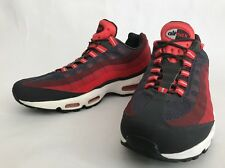 NIKE AIR MAX 95 NO SEW ANTHRACITE LASER CRIMSON CHILL RED [616190-001] MEN
