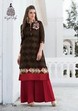 Stylish Designer Heavy Party Wear Embroidered Kurti, Kurta,Tunic in XL Size