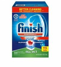 Finish All-In-One Dishwasher Detergent Powerball Tabs Bonus Pack 115 ct NOW