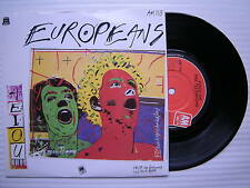 Europeans - A.E.I.O.U. / Voice On The Telephone, A&M AM-113 Ex A1/B1, AEIOU