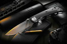 Spartan Blades Spartan Harsey Folding Knife Black DLC Black PVD Blade SF5BK New
