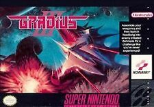 GRADIUS III 3 - SUPER NINTENDO SNES GAME