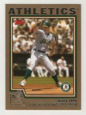 2004 Topps Gold BB #550 Barry Zito Athletics BV$5 ####/2004