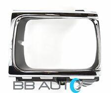 92-95 TOYOTA PICKUP TRUCK 4x4 LH DRIVER SIDE HEADLIGHT BEZEL TRIM CHROME NEW
