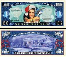 ELVIS PRESLEY / BLUE CHRISTMAS - BILLET DE COLLECTION MILLION DOLLAR US! Rock 60